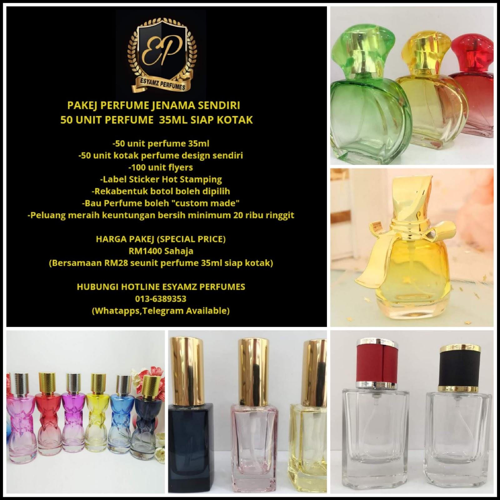 Buat tanda tangan anda sendiri perfume aroma. Pakej Perfume Jenama Sendiri Serendah 50 Unit Sahaja Sis Gee