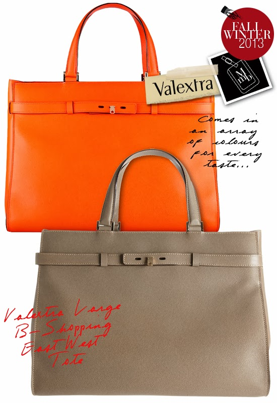 400dd72a3b4a8a ... to check out this Large B-shopping East West Tote while you are there!  Alternatively, Net-A-Porter stocks this bag in Lobster ( Orange) for  USD2660.