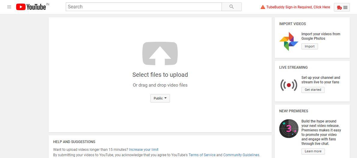 youtube par video kaise daale