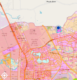 Quy hoạch đất ở đô thị Trảng Cát Hắc Dịch Phú Mỹ Bà Rịa