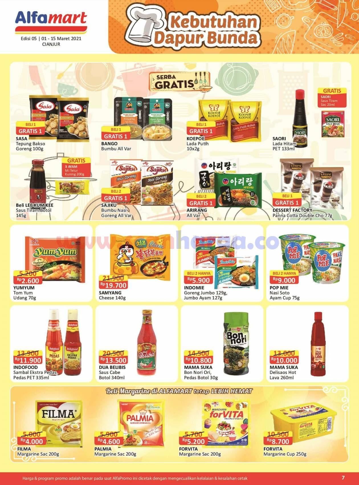 Katalog Promo Alfamart 1 - 15 Maret 2021 7
