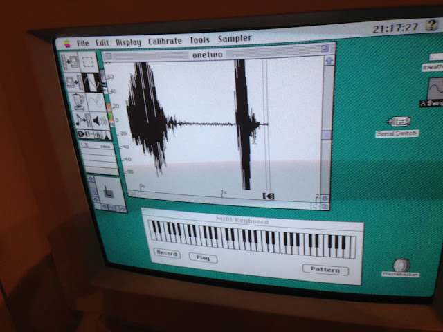 Sound Designer running on Mac OS 7.5.5