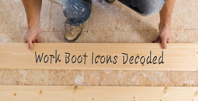 Work Boot Icons Banner