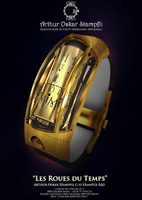 Arthur Oskar Stampfli (AOS) Watches - The Wheels of Time