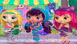 play Little Charmers Puzzle game