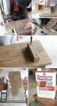 ديكورات حمامات افكار جديدة بالخشب