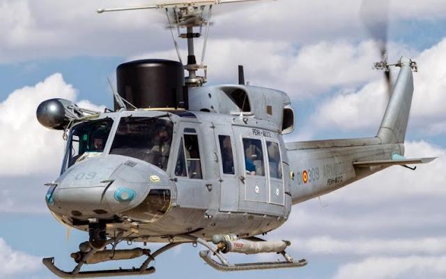 La Armada recibe el quinto helicóptero AB-212 modernizado