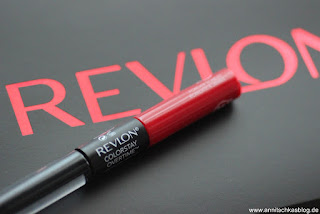 Review: REVLON ColorStay Overtime Lipcolor 350 - www.annitschksablog.de