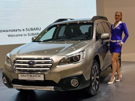 цена Subaru-Outback 2015 в России