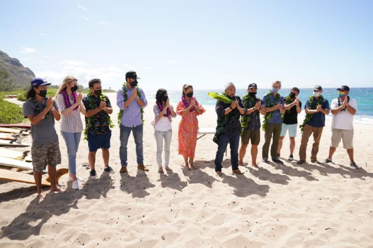 NCIS: Hawaii - Production Begins with Traditional Blessing