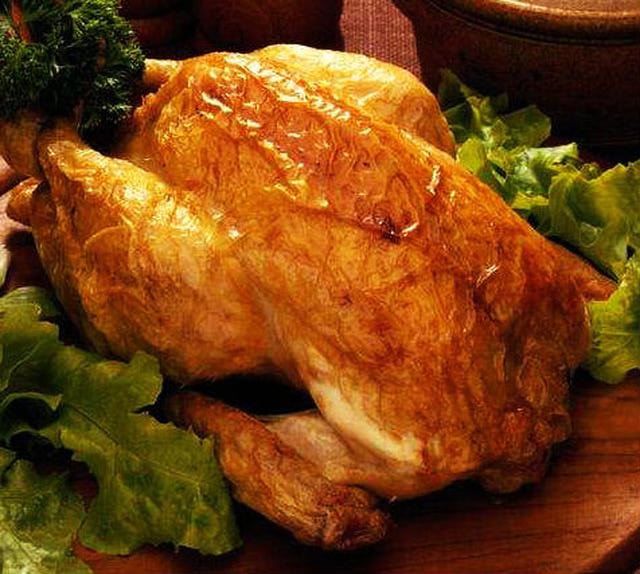 How to Make Roasted Chicken with Mango Glaze