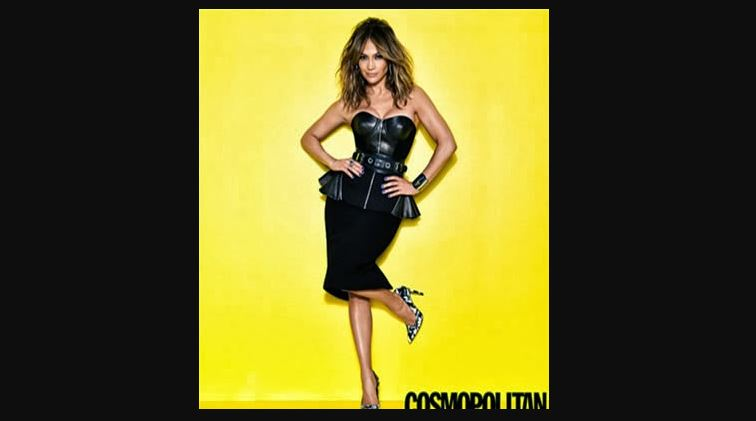 jlo on black cosmopolitan dress