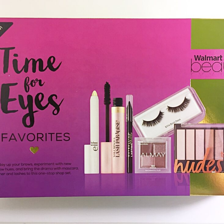 Walmart Beauty Favorites Box Time for Eyes