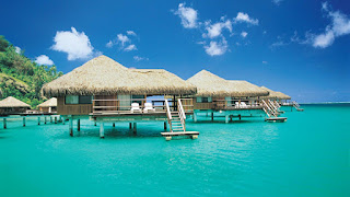 Honeymoon Destinations with Overwater Bungalows in polenesia