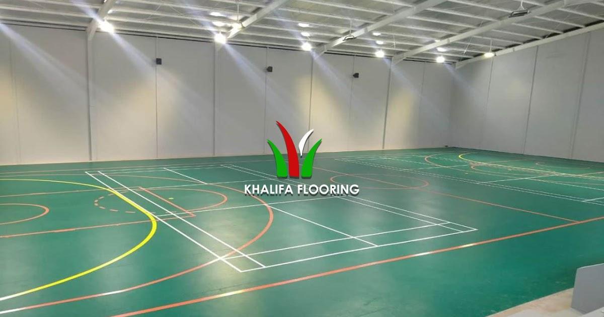 Harga Lantai Vinyl Futsal Murah Khalifa