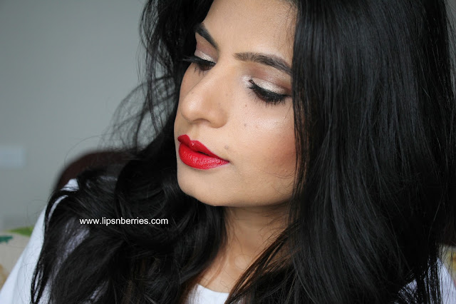MAC Mulling spices red lipstick review