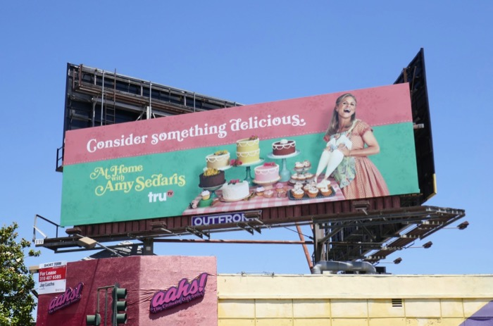 At Home Amy Sedaris season 2 Emmy consideration billboard