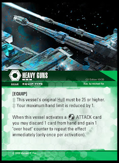 Equip type: Heavy Guns