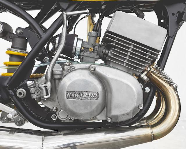 Kawasaki S3 1974 By Motobrix Hell Kustom