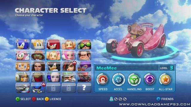 Sonic & sega all-stars racing apk free download | Sonic the Hedgehog