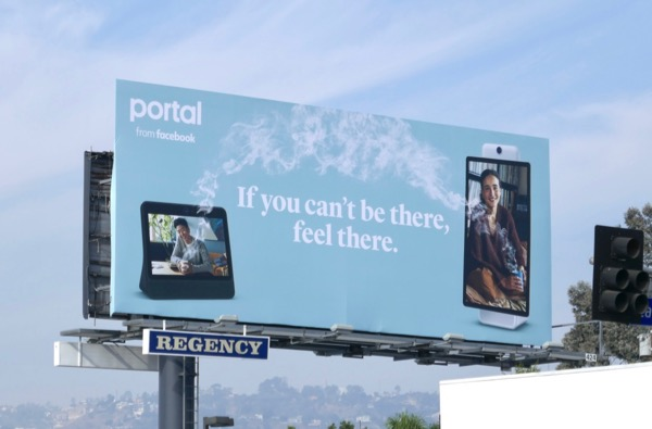 Portal Facebook cant be there feel there billboard