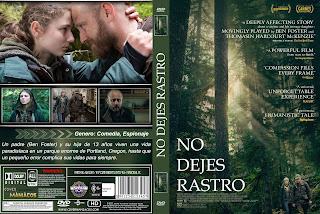 CARATULANo dejes Rastro - Leave No Trace - 2018 - [COVER DVD]