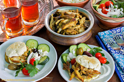 paleo, chicken, pita bread, shawarma, middle eastern