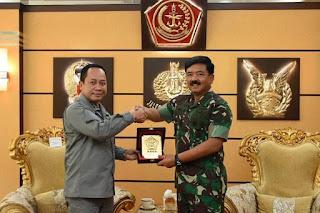 Sinergi Peran Bakamla, Kepala Bakamla RI menemui Panglima TNI