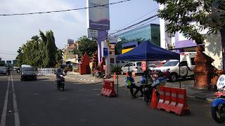 Dishub Tongkrongi Jalan Protokol Kota Cirebon