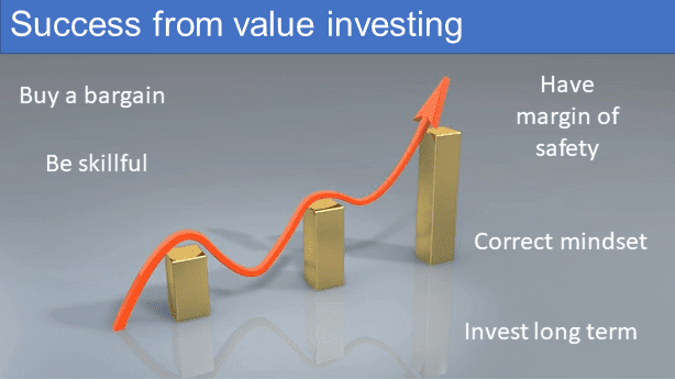 Success from value investing