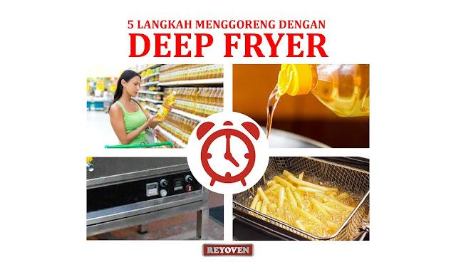 Lima Langkah Menggoreng Kentang dengan Deep Fryer Reyoven