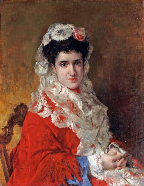 José María Casado del Alisal, Maestros españoles del Retrato, Retratos de Casado del Alisal, Pintor español, Pintores de Palencia, Casado del Alisal