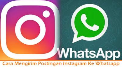 Cara Mengirim Postingan Instagram Ke Whatsapp (Termudah.com)