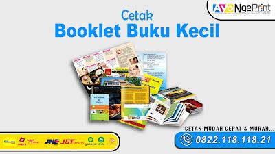 Tempat Cetak Booklet Buku Kecil Murah di Ciracas, Jakarta Timur