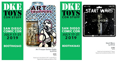 San Diego Comic-Con 2019 Exclusive Star Wars Resin Figures by RYCA x DKE Toys