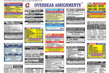 Assignments Abroad Jobs~18 September