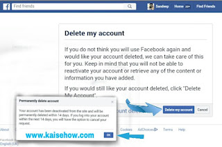 facebook account delete kaise kare,fb account delete karne ka tarika,fb account delete permanently in hindi