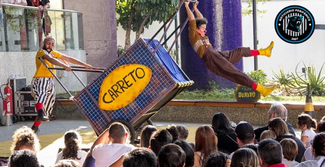 Trupe DuNavô apresenta o espetáculo circense Irmãos Carreto no SESC Itaquera