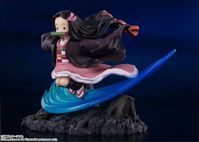 """Figuras: Figuarts Zero Nezuko Kamado de """"Kimetsu no Yaiba: Demon Slayer"""" - Tamashii Nations"""