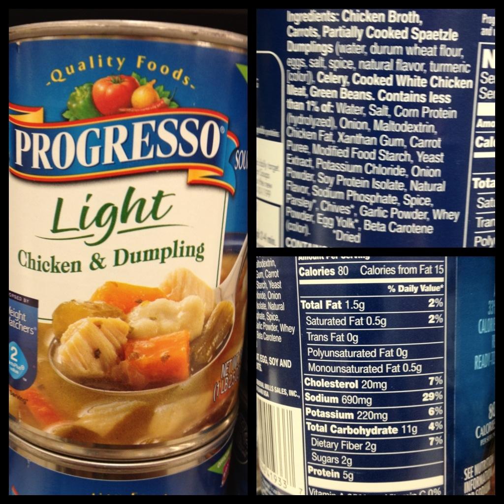 Deceiving Food Labels
