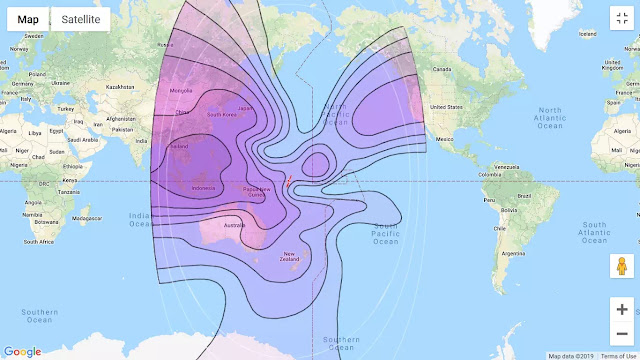 Cara tracking satelit Intelsat 19 C-Band