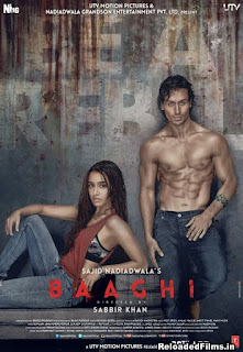 Baaghi 2016 Full Hindi Movie Download BRRip 720p
