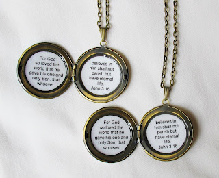image locket necklaces brass bible vers john 3:16 for god so loved the world that he gave his only son that whoever believes in him shall not perish but have eternal life two cheeky monkeys