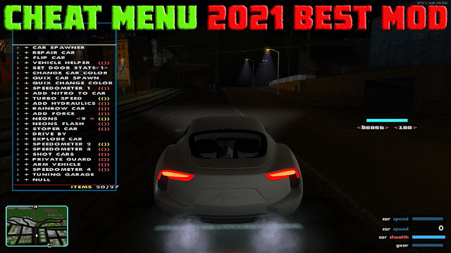 GTA San Andreas Cheat Menu 2021 Best Mod
