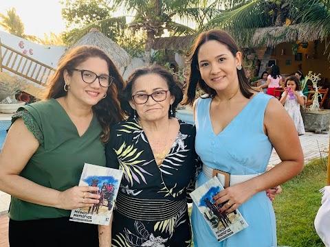 """Lançamento do livro """" Minhas Memórias """" de Auristela Andrade foi sucesso. Confira!"""