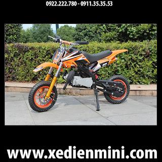 Xe cào cào mini 50cc giá rẻ màu cam