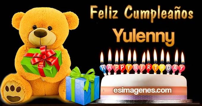 Feliz Cumpleaños Yulenny