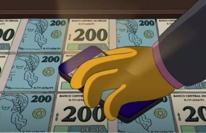 DIVULGAÇÃO DO LANÇAMENTO DA NOTA DE 200 REAIS QUEBRA A WEB – Da previsão dos Simpsons em 2014 ao abaixo assinado em favor do cachorro caramelo.