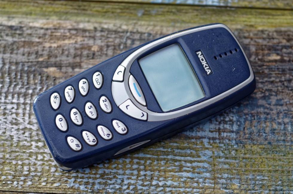 El icónico telefono de Nokia el 3310