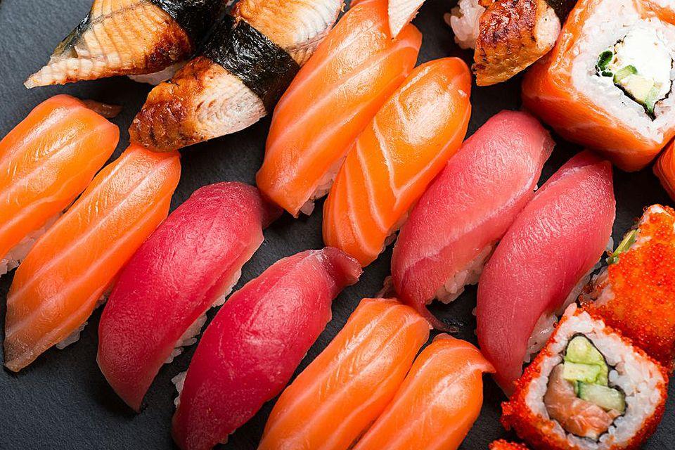 fish sushi parasite